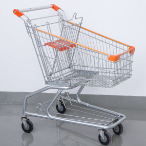 Supermarket Food Hand Trolley Cart pictures & photos
