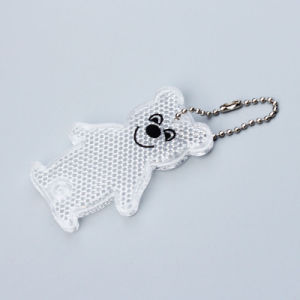 Road Reflector Keychain, Plastic Backpack Reflectors (JG-T-01) pictures & photos