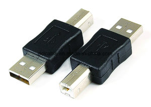 USB2.0 a Male to B Male Adapter pictures & photos