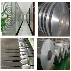 Window Blinds Color Coated Aluminium Strip Coil pictures & photos