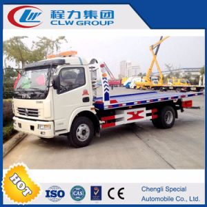 Small Wrecker Truck Body with Dongfeng Chassis pictures & photos