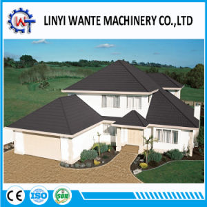 China Stone Coated Steel Metal Bond Roofing/Roof Tiles pictures & photos
