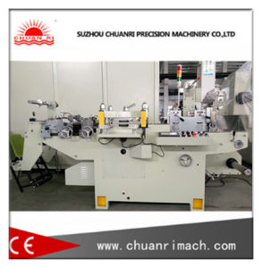 Automatic Self-Adhesive Label Die-Cutting Machine with Punching and Filming Function pictures & photos