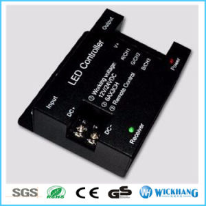 18A DC 12V/24V RF Wireless Touch RGB Controller for 5050/3528 RGB LED Strip pictures & photos