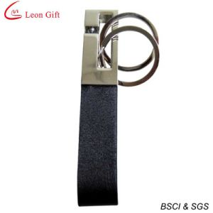 Top Quality Real Leather Keychain Promotional Gift pictures & photos
