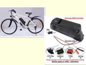 Hot Selling 48V 13s4p Lithium Battery E-Bike Battery Lithium Ion Battery Pack Electric Bicycle Battery Ebike Battery Li-ion Rechargeable Downtube Battery pictures & photos