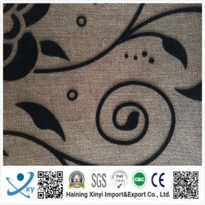 Wholesale Low Price High Quality 190t 68dx68d Waterproof Polyester Flocking Taffeta Fabric pictures & photos