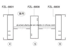 Fzl-88 Seriesaluminium Alloy Extrusion Profile for Door and Window pictures & photos