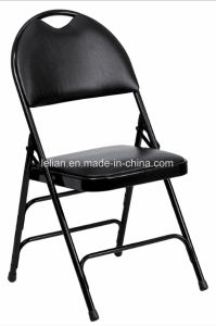 Multi-Purpose Strong Steel Folding Chair with Upholster (LL-0031B) pictures & photos