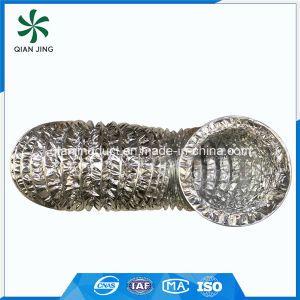 Glass Fabric Combi Double Layer Aluminum Flexible Duct for HVAC Systems pictures & photos