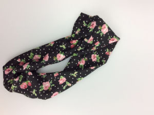 Fashion Apparel Accessories Polyester Print Flower Hairband for Women pictures & photos