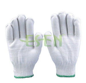 Good Quality Cheap Price Cotton Industrial Work Gloves with Raw Knitting Golve pictures & photos