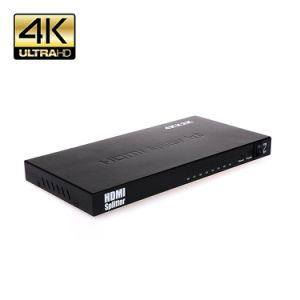 HDMI Splitter 1 in 8 out Ver1.4 Support Ultra HD 4k 3840X2160p 1080P 3D 1 Source to 8 Hdtvs pictures & photos