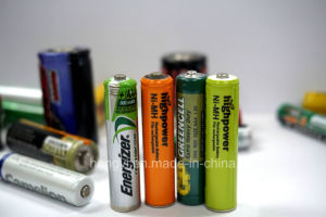 Heat Sensitive PVC Label in Max. 10 Colors Printing for Battery pictures & photos