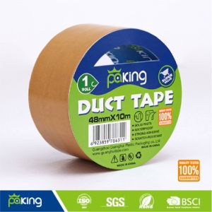 Beige Duct Tape for Carton Sealing and Pipe Wrapping pictures & photos