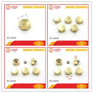 Decorative Rivets Hex Head Screw for Handbag Accessories pictures & photos