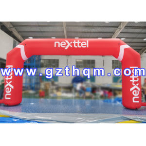 Durable Half Round Inflatable Sport Arch with High Tensile Strength pictures & photos