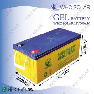 UPS Battery 12V 65ah 100ah 150ah 200ah Solar Gel Battery pictures & photos