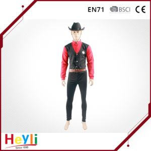 in Style Men Boys Party Cowboy Cosplay Costumes pictures & photos