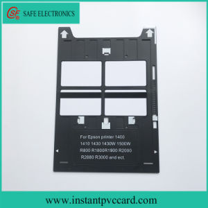 Inkjet PVC Card Tray for Epson R1900 Inkjet Printer pictures & photos