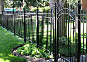 Galvanized Steel Garden Railing China Supplier pictures & photos