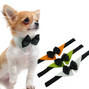 Cool Grace Dog Bowtie Harness Pet Gentleman Party Bandanas pictures & photos