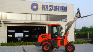 Professional Supplier 1.6ton Hydraulic Mini Wheel Loader pictures & photos