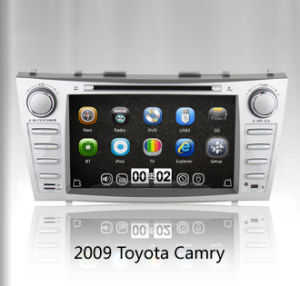 Quad Core Wince 6.0 in Dash Car Stereo for New Camry 2007-2011 with GPS 3G TV iPod Bluetooth pictures & photos