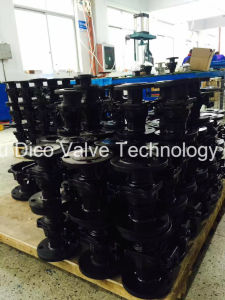 Full Port Carbon Steel Flange Ball Valve with Mounting Pad pictures & photos