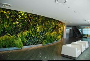 Hanging 3D Green Panels for Wall Covering Decoration pictures & photos
