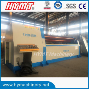 W12S-20X4000 Universal Hydraulic Steel Plate Bending Rolling Machine pictures & photos