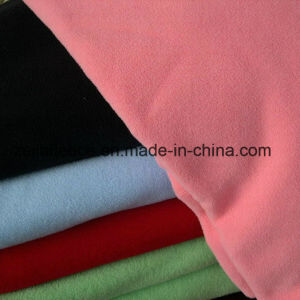 Solid Plaine Dyed Micro Polar Fleece pictures & photos