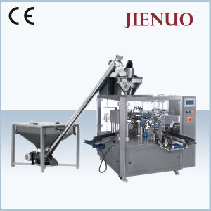 Automatic Rotary Spice Powder Soy Flour Powder Wheatmeal Pouch Packing Machine pictures & photos