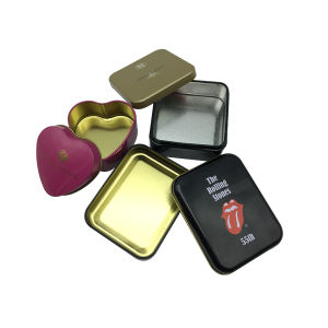 Candy Tin Box Wholesale Custom Shape Design pictures & photos