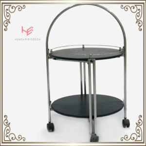 Liquor Cart (RS150501) Trolley Liquor Trolley Stainless Steel Furniture pictures & photos