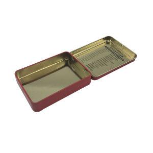 Hinge Tin Container Cigarette Tin Box Wholesale Hot Sale pictures & photos