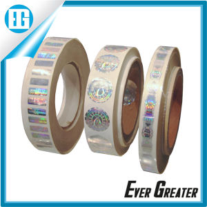 Custom Label Strong adhesive Hologragm Sticker pictures & photos