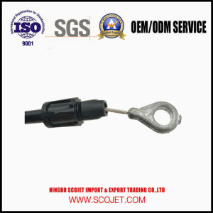 OEM High Quality Control Cable with Spring and Die Casting Handle pictures & photos