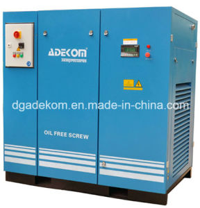 Non-Lubricated Silent Oil Free Rotary Screw Air Compressor (KF220-10ET) pictures & photos