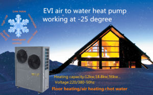 18kw High Cop & Low Noise Split Evi Air to Water Heat Pump pictures & photos