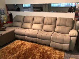 Fabric Sofa, Recliner Sofa, Manual Type Sofa, Home Furniture (GA03) pictures & photos