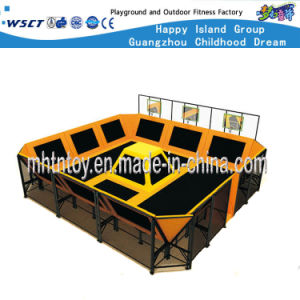 Popular Soft Indoor Commercial Trampoline Park (HF-19704) pictures & photos