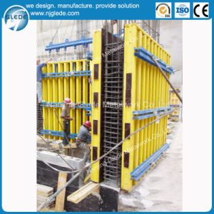 Building Wall Steel Formwork for Concrete Column with High Quality pictures & photos