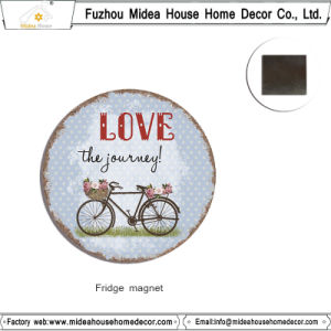 European Home Decoration Custom Metal Magnetic Sticker