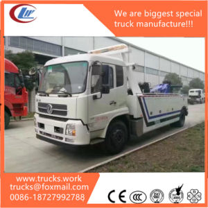 Dongfeng 4X2 Road Wrecker Truck Tow Truck Recovery Truck pictures & photos