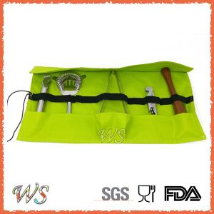 Ws-Ca01 Lfbg FDA Passed Cloth Wrap Stainless Steel Barware Set pictures & photos