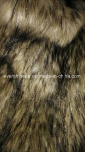 Fake Fur Fabric Knitted Long Pile Fabric for Garment/Toy/Hat pictures & photos