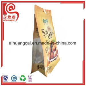 Flat Bottom Stand up Side Sealed Plastic Foil Food Bag pictures & photos