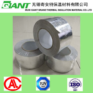 Foil-Scrim-Kraft Mesh Facing/Fsk Kraft Reinforced Adhesive Tape for Duct pictures & photos