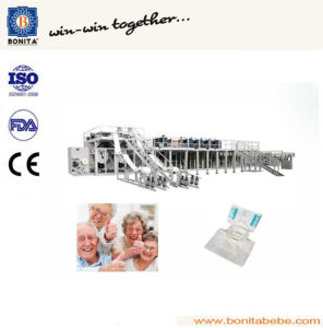 High Efficient Adult Diaper Machine with Ce (BNT-AD-08)